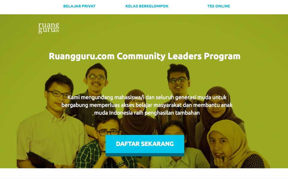 Community Leaders Program 2015