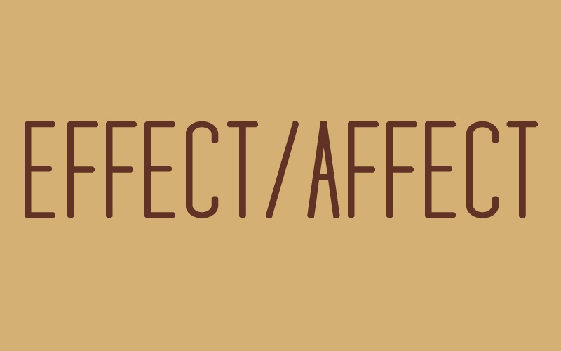 Effect and Affect