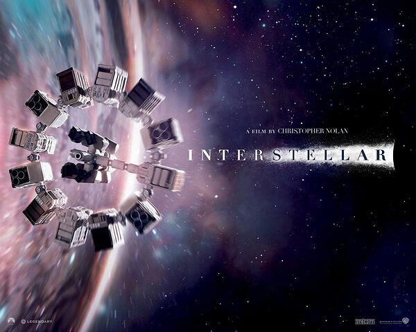 luar angkasa - Interstellar - 2014