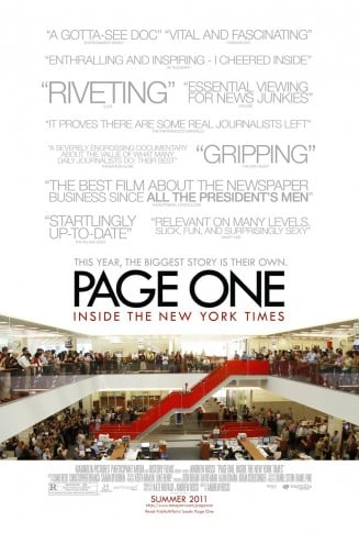 rekomendasi film - Page One: Inside the New York Times (2011)