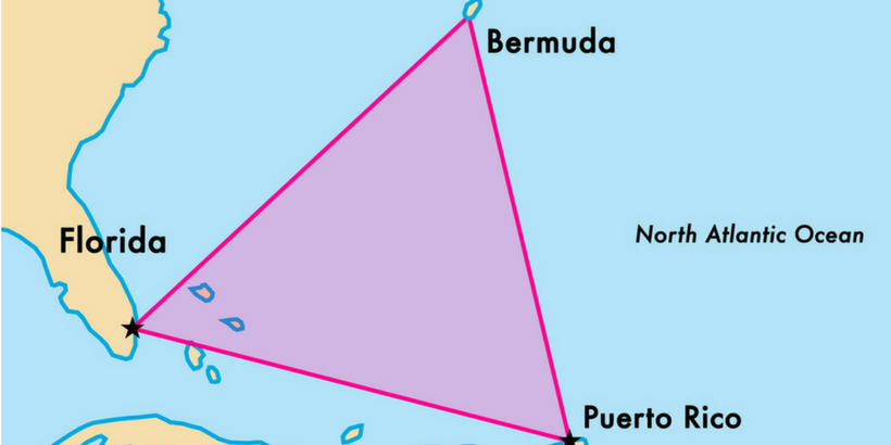 an analysis of the disappearances of the bermuda triangle Two of the so-called bermuda triangle's most mysterious disappearances in the late 1940s may have been solved scores of ships and planes are said to have vanished without trace over the decades in a vast triangular area of ocean with imaginary points in bermuda, florida and puerto rico.